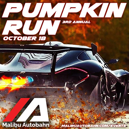 Pumpkin Run Sponsorship