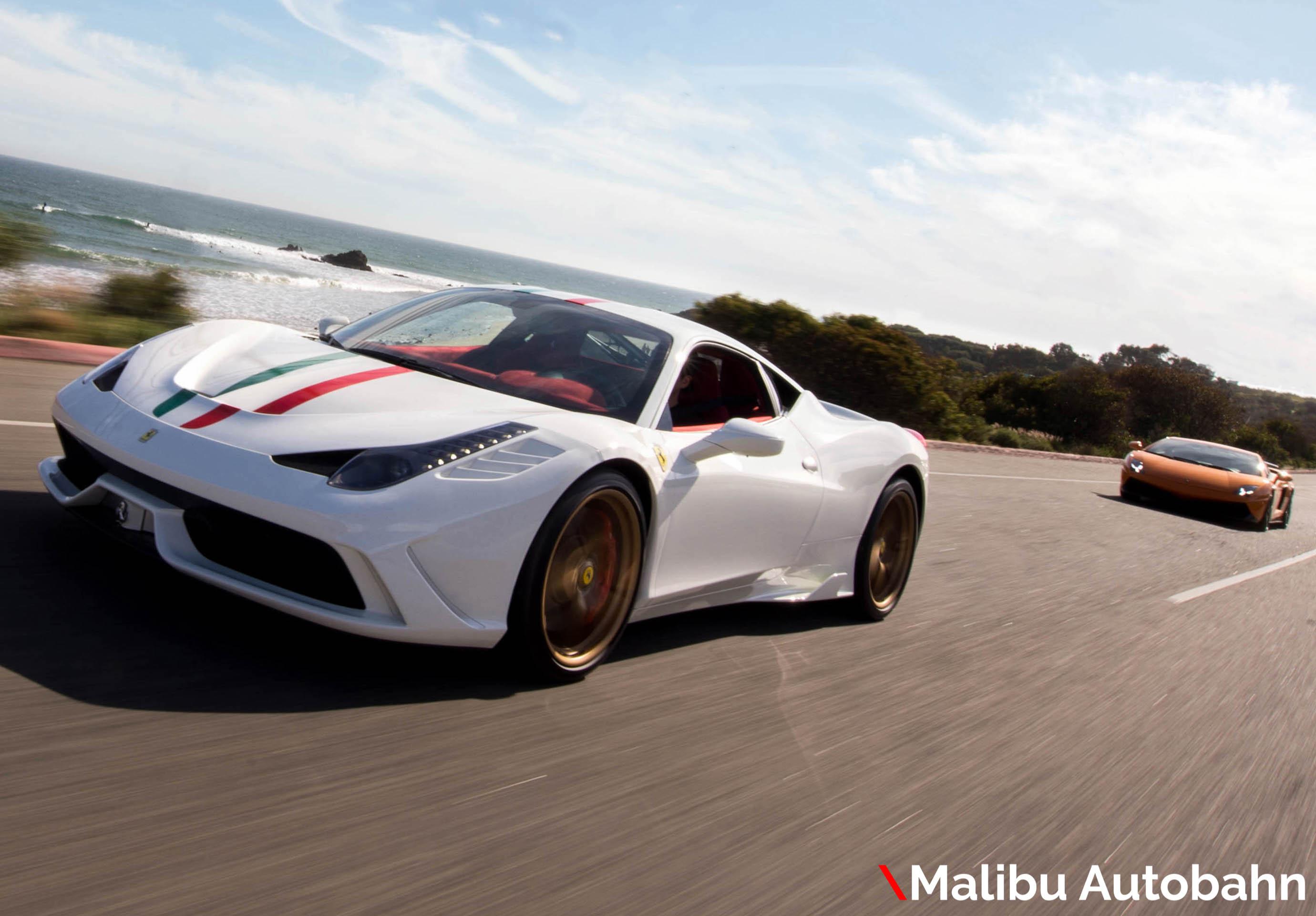 Malibu Autoban Ferrari Lambo Rolls