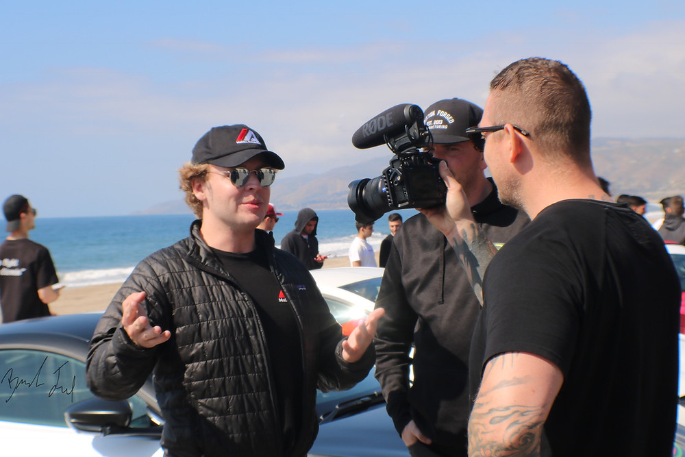 Malibu Autobahn Founder with DDE Founder, Damon Fryer