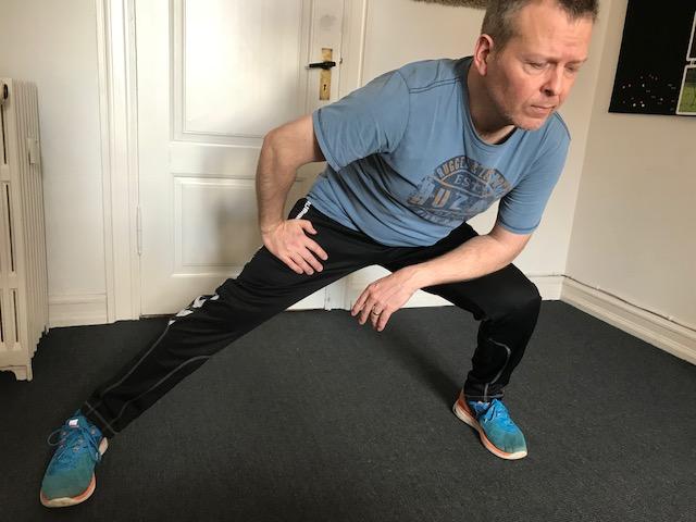 strækøvelser lægmuskel