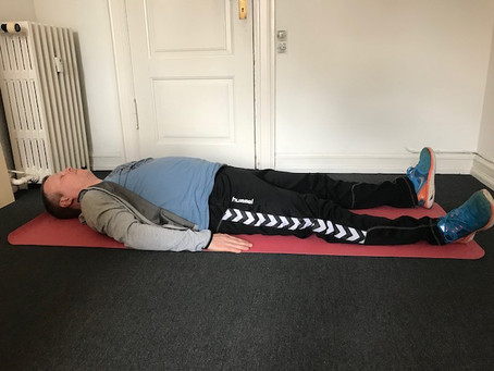 Øvelse: Mental afspænding ved hjælp af tyngdekraften
