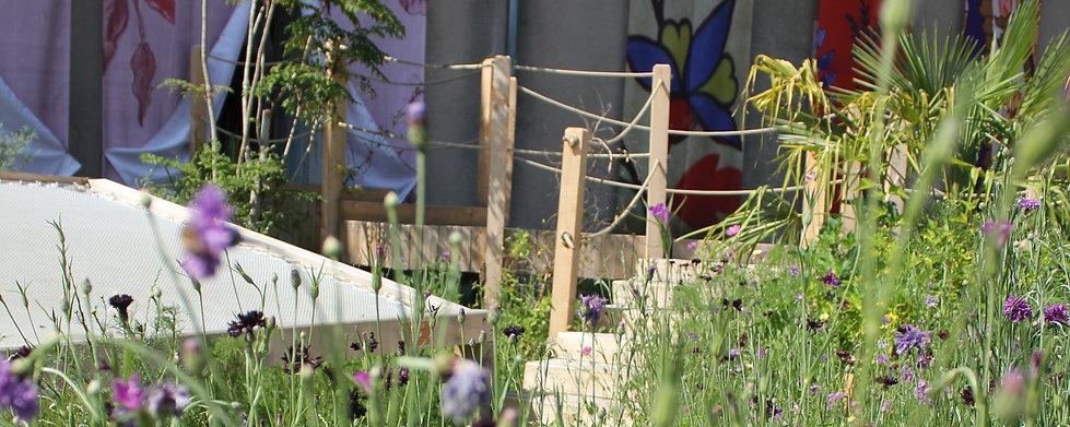 Coupez/Décollez - Collectif Les Jardiniers Nomades Festival Internacional des Jardins Métissés Wesserling - Alsace - France 2015
