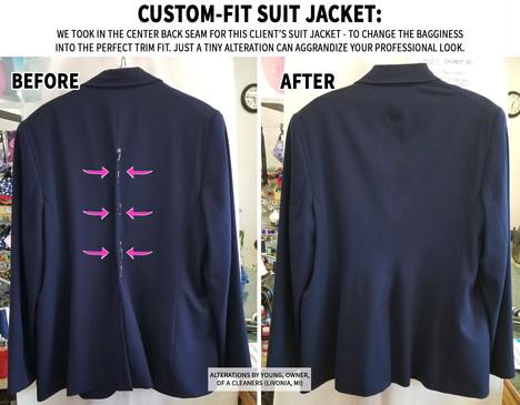 Custom Fit Suit Jacket