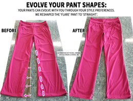 Evolve your pant shapes