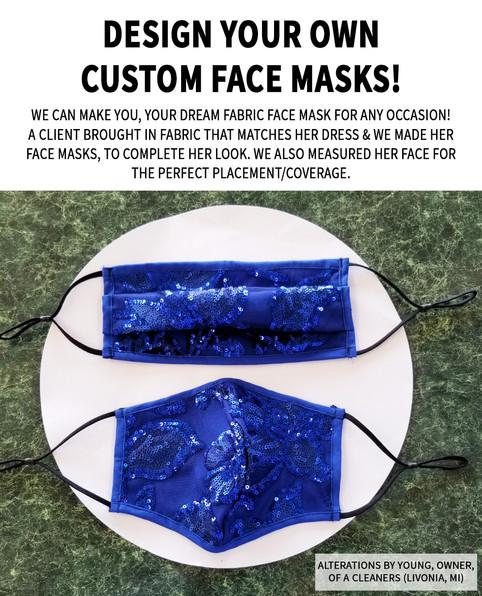 Design your own Custom Face Mask