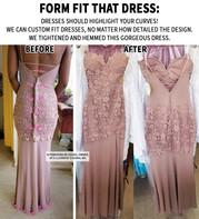 Form Fit that Dress