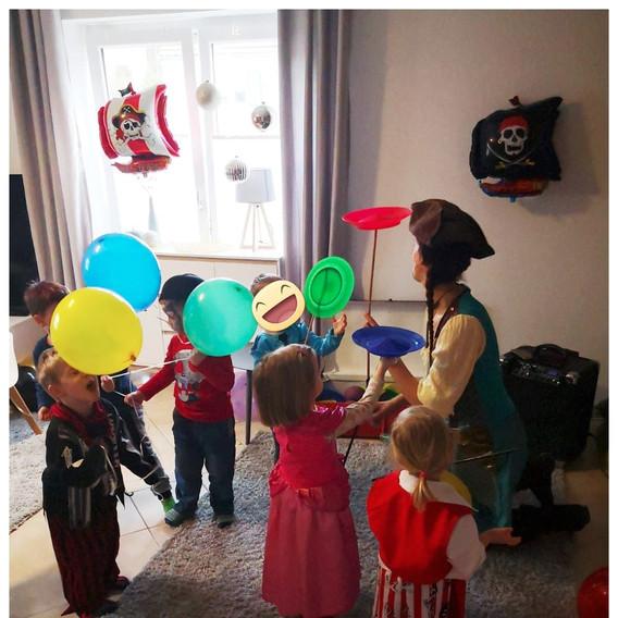 Mottoparty Piraten-Geburtstagskind 4 Jahre