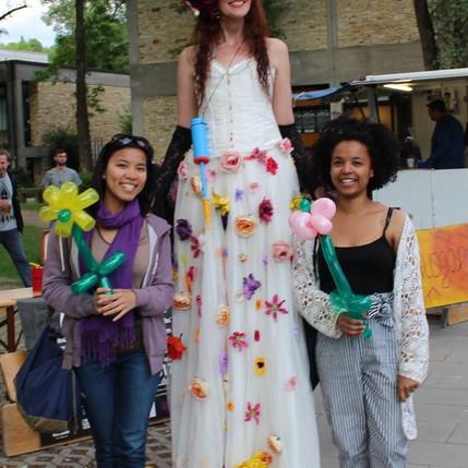 Blumenfrau in Eichstätt