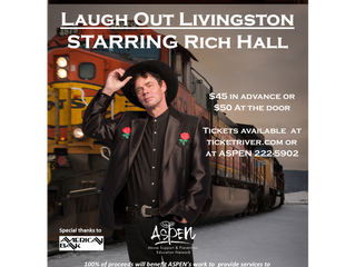 Laugh Out Livingston Starring Rich Hall