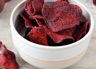Quick & Easy Beet Chips