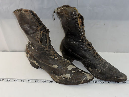 1800s Women's Leather Shoes