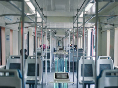 Northern Railways in India Test UV-C Robots to Disinfect Coaches