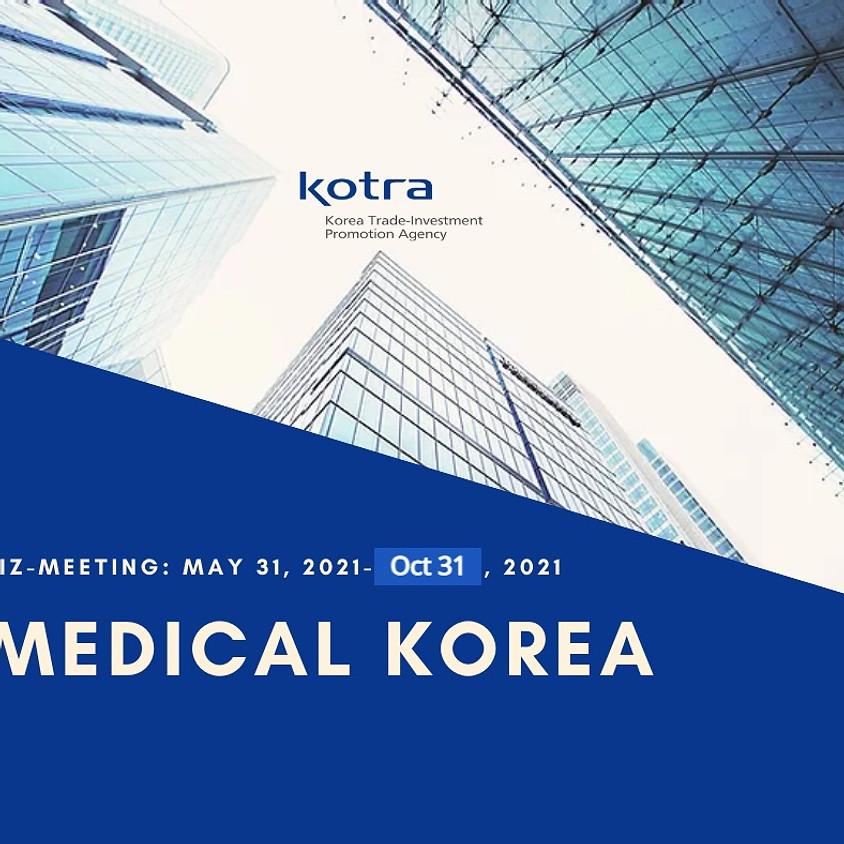 Medical & Bio health Industry Online Biz-Meeting [May 31 - Oct 31]
