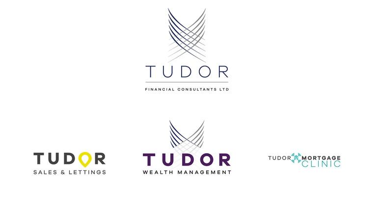 Tudor Financial brand hierarchy