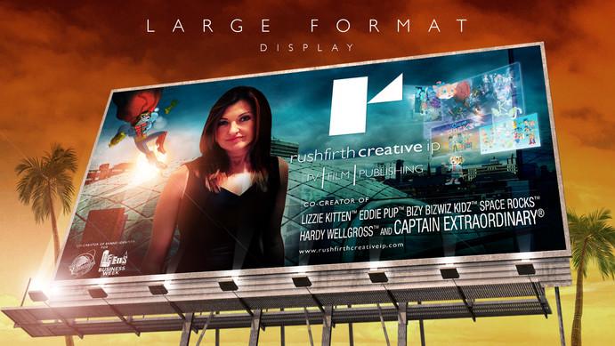 Rushfirth Creative large format/display image