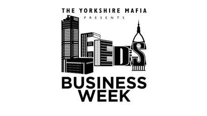 Leeds Business Week Brand Identity