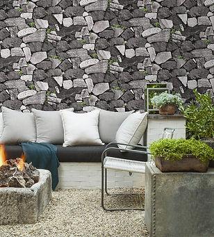 Pedras brutas granito