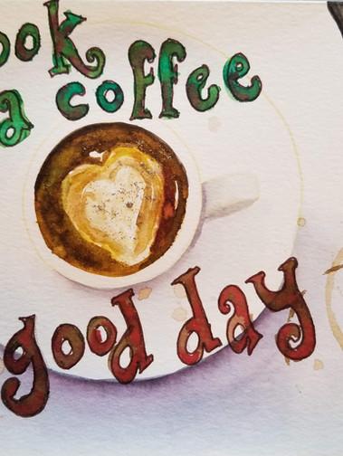 A Book, A Coffee, A Good Day!