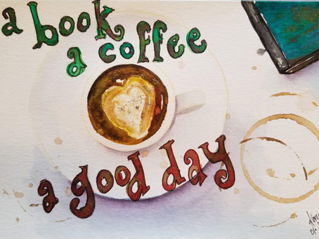 A Book, A Coffee, A Good Day!