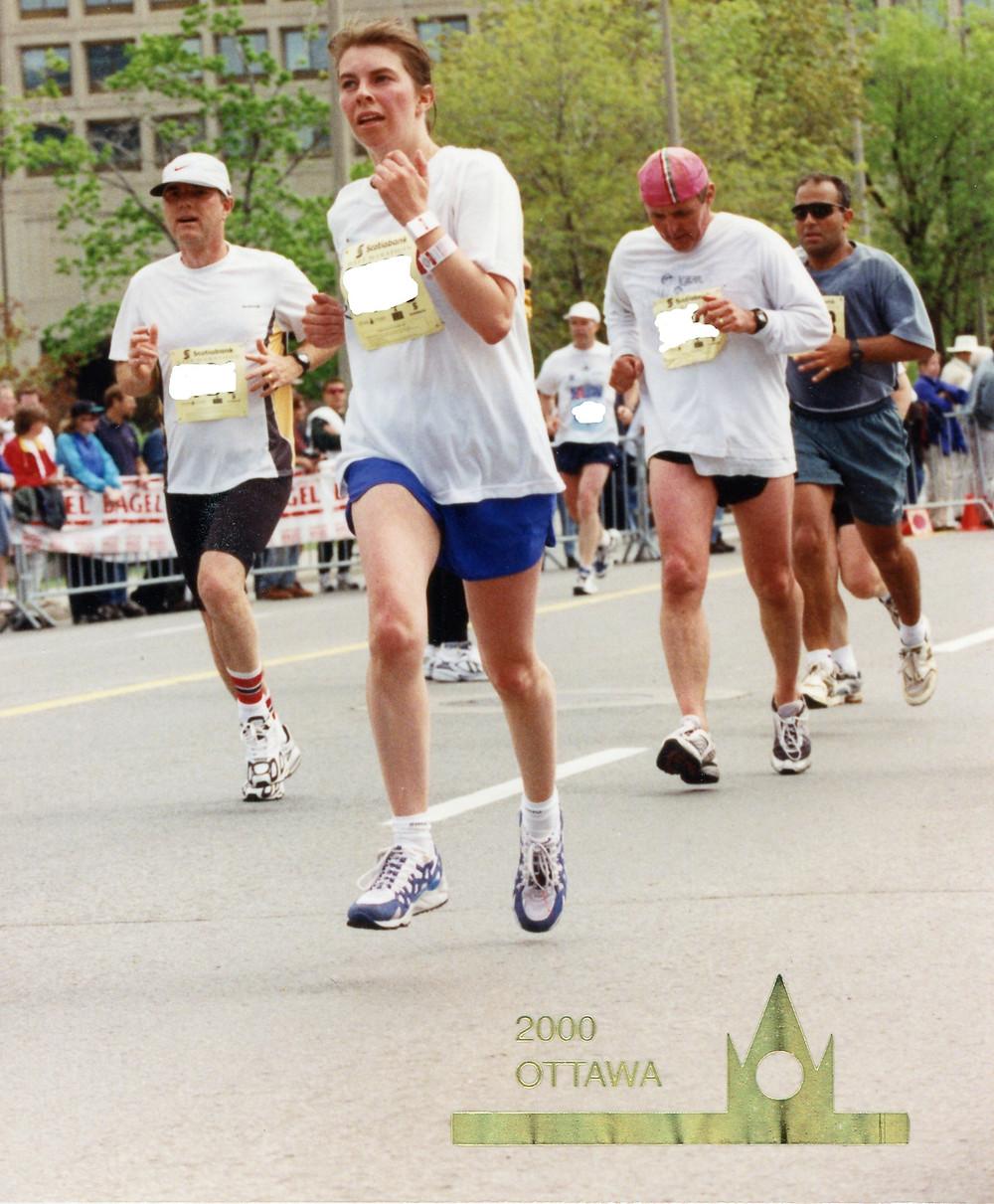 half marathon race running