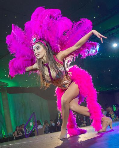 Showgirl Pink costume,