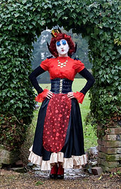 Alice in Wonderland events, Queen of Hearts, Circus, Themed events, Corporate events