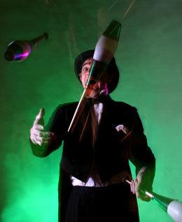 Juggler 1 clubs, juggler, circus acts