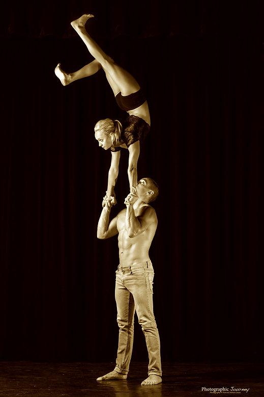 acrobalace act, acrobalace duo, adagio act, acrobats, circus, shows