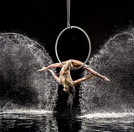 Aerial Hoop, Contortion, Aerialist,  corporate, circus acts, Aerial above water, events