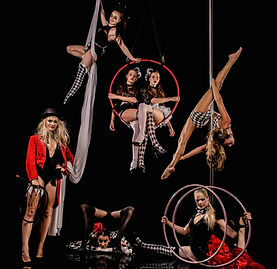 Circus, Themed events, Broken Circus, Dark circus, Caberet, Aerialists, Pole artists, Contortionist, Circus shows
