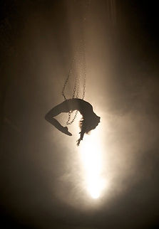 aerial chains, aerialist, Circus, Events, Unusual circus act, acrobat