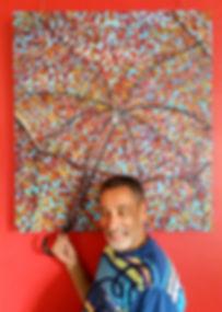 Ombrelle D'Automne, Donald Watier artiste peintre contact