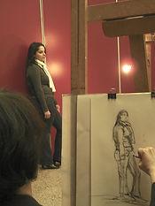 Donald Watier artiste peintre cours, démonstration