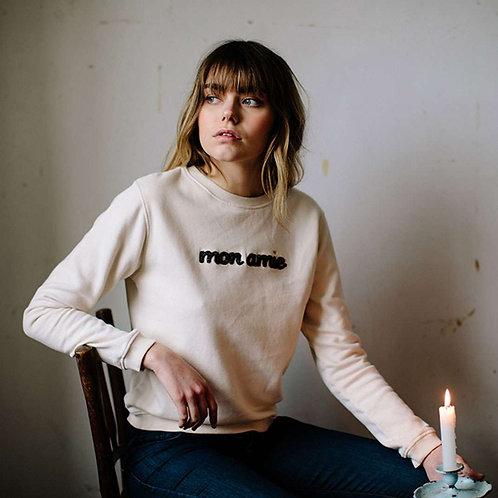 "EMILE ET IDA sweatshirt ""mon amie"""
