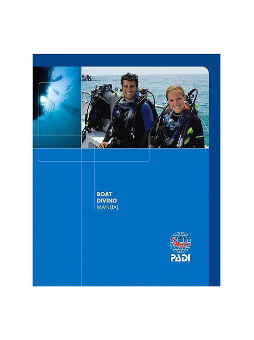 PADI Boat Diver Specialty Manual