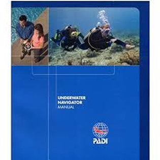PADI Underwater Navigator Specialty Manual