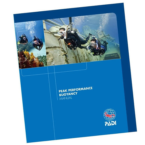 PADI Peak Performance Buoyancy Specialty Manual