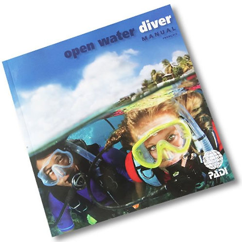 PADI Open Water Diver Manual with Table Imperial