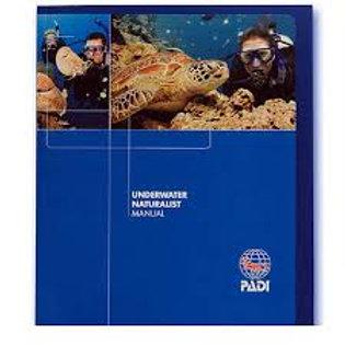 PADI Underwater Naturalist Specialty Manual