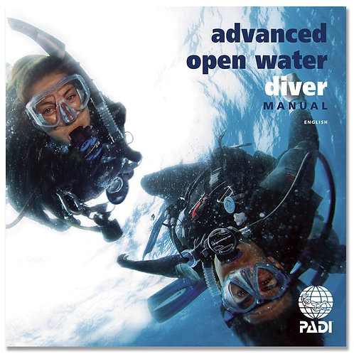PADI Advanced Open Water Diver Manual W/Data Carrier
