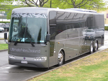 Catching up with Grand Pacific Tours in New Zealand