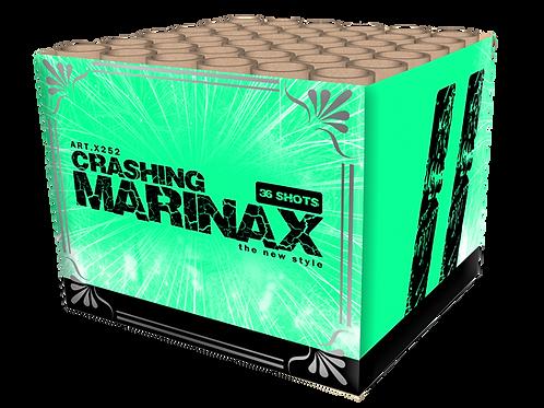Crashing Marinax - 36 Schuss Feuerwerksbatterie 25mm KATAN
