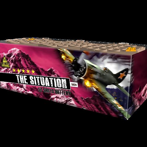 The Situation  -  57 Schuss XXL Verbundfeuerwerk 30mm KATAN