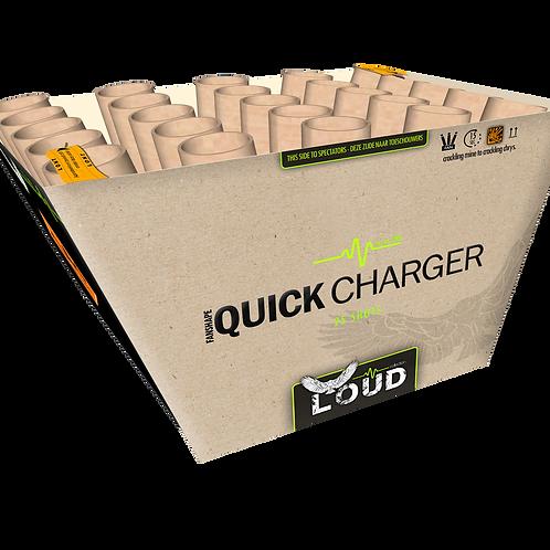 Quick Charger - 25 Schuss Z-Fächer Feuerwerksbatterie KATAN