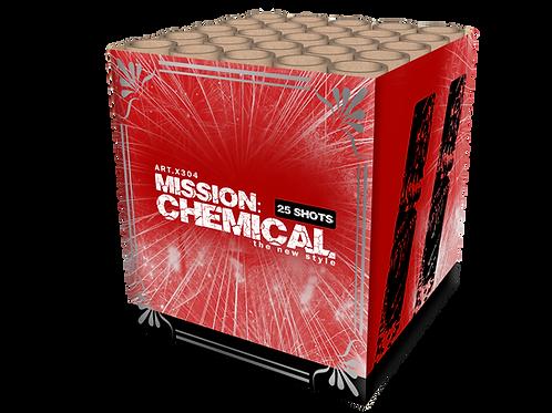 Mission Chemical - 25 Schuss Feuerwerksbatterie 30mm KATAN