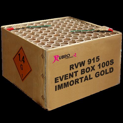 Event Immortal Gold 100`s - 100 Schuss Mega Verbundfeuerwerk