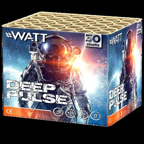 Deep Pulse - 30 Schuss #WATT  Feuerwerksbatterie