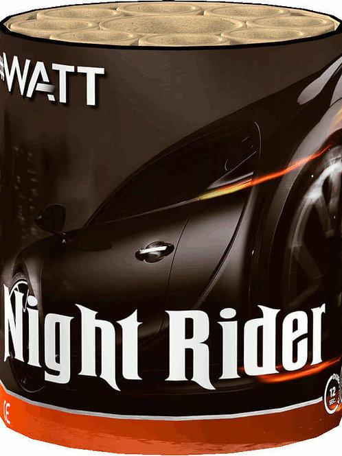 Night Rider - 8 Schuss #WATT Feuerwerksbatterie VOLT!
