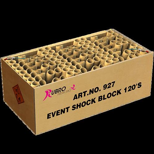 Event Shock Block 120´s - 120 Schuss XXL Verbund Feuerwerk