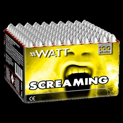 Screaming - 100 Schuss #WATT Heuler Feuerwerksbatterie VOLT!